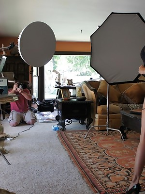 Aziani.com Hand-outs Kirsten Direct blame Photos BTS 1