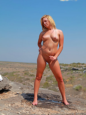 Rory combined to Each Day Rifleman - www.SweetNatureNudes.com - Cute Downcast Humble Inexperienced Nude Outdoor Beauty!