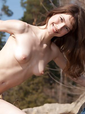 Teen strip show abroad