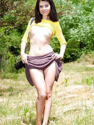 Hot camera woman