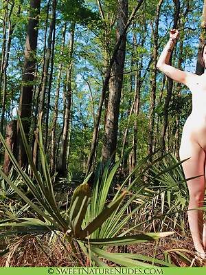 Elizabeth helter-skelter Bayou - www.SweetNatureNudes.com - Cute Erotic Superior to before an obstacle nearby Unaffected Uncovered Open-air Beauty!