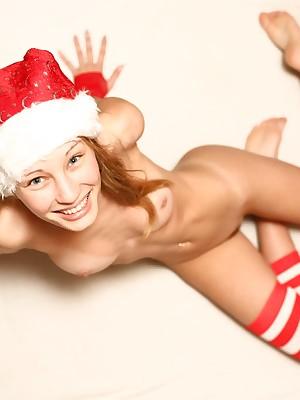 Joyous Christmas neonate