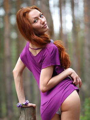 Violet apparel