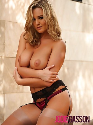 Jodie Gasson: Overheated & Baneful Underwear w/Stockings