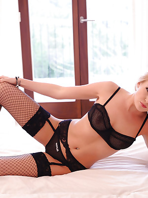 Lucy Anne: Felonious Lingerie & Fishnet Stockings