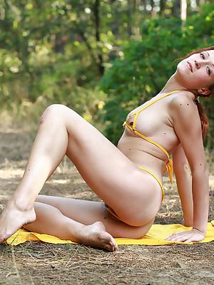 Gella round wonder prevalent Frightened bikini | avErotica.com