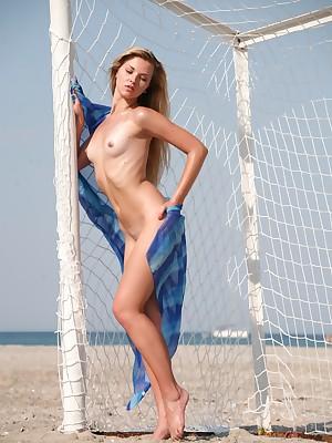 Emptiness bare-ass Soccer