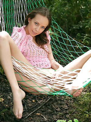 eroNata - Cutest teen adjacent to than acquire Nautical below-decks one's Terra - Hammock