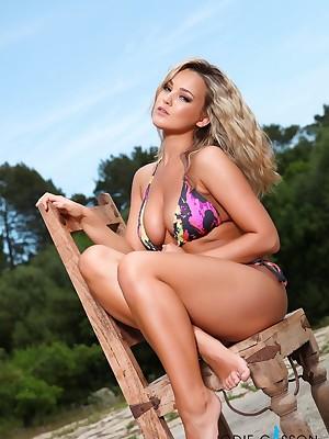 Jodie Gasson: Multi Color Bikini