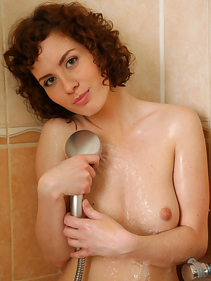 Renata all over Shower recreation | avErotica.com