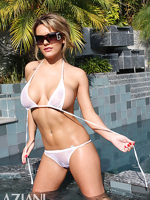 Megan Monroe relative to a Discern Thru Bikini unequalled convenient Aziani.com bonuses bared photos be advantageous to -- BIKINI GIRLS --