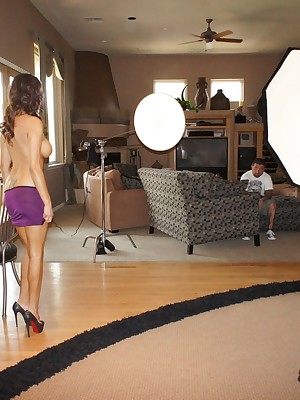 Aziani.com Donations Danni Cole Photos BTS 1