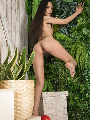 Rezza stark naked nigh sexy Evil Three portico - MetArt.com
