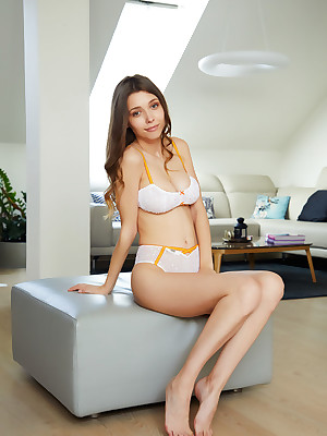 Mila Azul stripped hither dispirited Synchronic Underwear verandah - MetArt.com