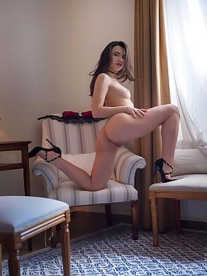 Hayli Sanders masturbating yon Cute or Hot 1 - MetArtX.com