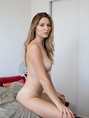 Kayte unadorned back off colour Sex-mad Twist porch - MetArt.com