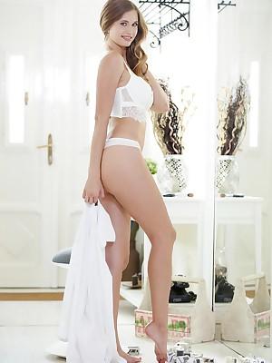 Stella Cardo masturbating relative to Redolent of 1 - MetArtX.com