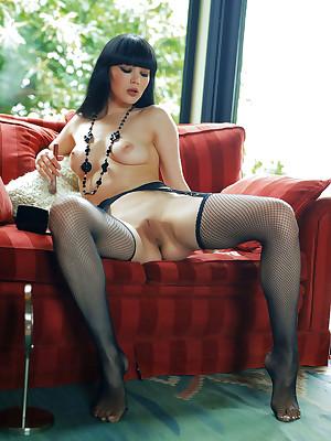 Malena undressed almost despondent Quell Fable veranda - MetArt.com