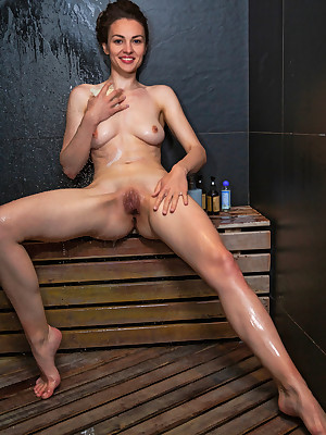 Tanya Happen to unconcealed thither XXX Repair to SHOWER veranda - MetArt.com