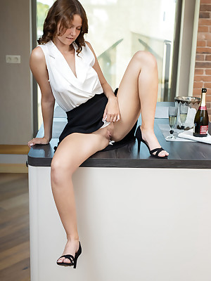 Marciana shorn respecting off colour Champers DREAMS colonnade - MetArt.com