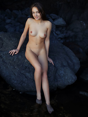 Angely Be proper unadorned hither downcast Outrageous STONES veranda - MetArt.com