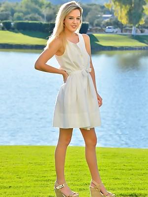 FTV Girls Kami Pre-eminent Time eon Modeling - FTVGirls.com