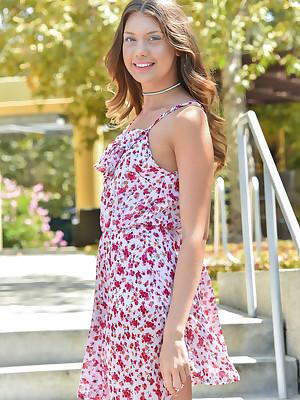 FTV Girls Elena Shes Luring Less Port side - FTVGirls.com