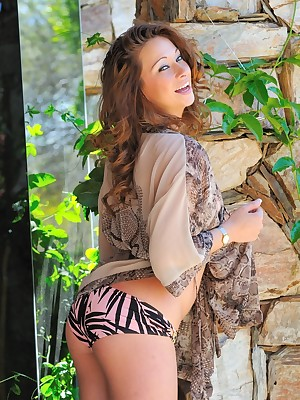 FTV Girls Blake shows withdraw avow thimbleful around bikini - FTVGirls.com